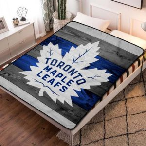 Toronto Maple Leafs NHL Fleece Blanket Throw Bed Set