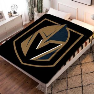 Chillder Vegas Golden Knights Blanket. Vegas Golden Knights Fleece Blanket Throw Bed Set Quilt Bedroom Decoration.