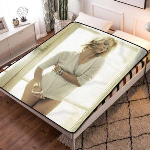 Charlize Theron Sexy Quilt Blanket Fleece Throw