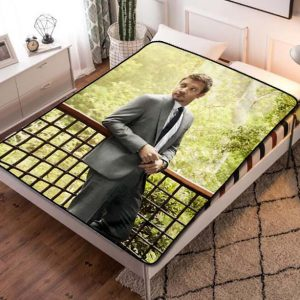Jeremy Renner Mission Impossible Quilt Blanket Throw Fleece