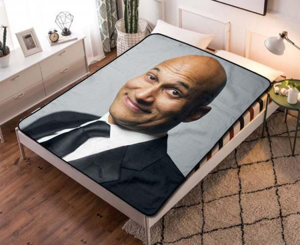Keegan-Michael Key Playing with Fire Fleece Blanket Throw Quilt