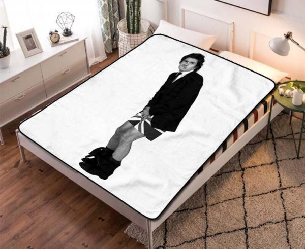 Orlando Bloom The Lord of the Rings Quilt Blanket Throw Fleece