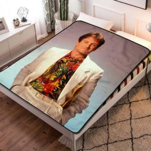 Robin Williams Absolutely Anything Fleece Blanket Throw Quilt