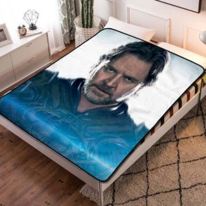Russell Crowe Hollywood Fleece Blanket Throw Quilt