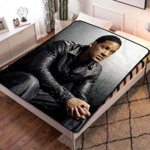 Will Smith Bad Boys for Life Fleece Blanket Throw Quilt