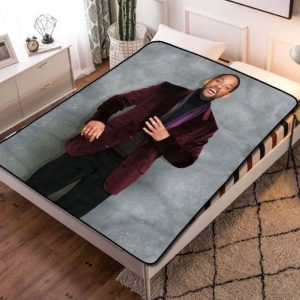 Will Smith Movies Fleece Blanket Throw Quilt